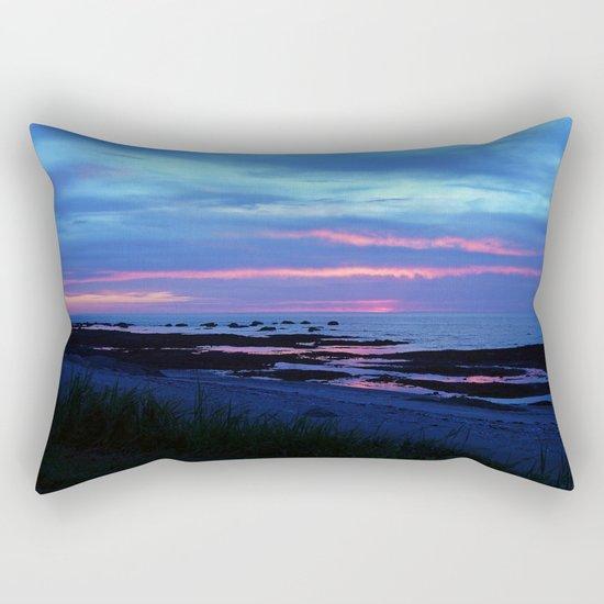 Dusk under the Storm Rectangular Pillow