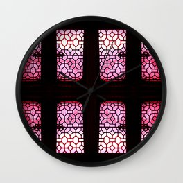 PinkPane Wall Clock