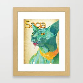 Saga Framed Art Print