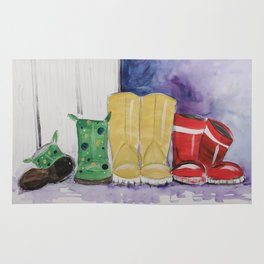 Rainboots Rug