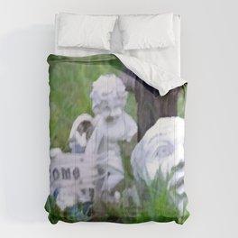Yard Art Garden Decor Comforters