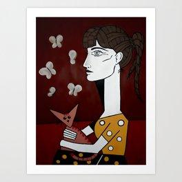 Jacqueline Tribute Art Print