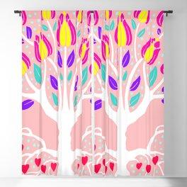 Love Grows Forever - Blush Peach Blackout Curtain