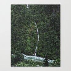 River Divide Canvas Print
