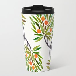 Bonsai Tree – Orange Fruit Travel Mug