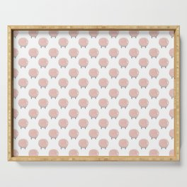 Sweet Dreams Cotton Candy Sheep Serving Tray