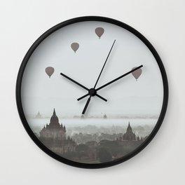 Bagan VI Wall Clock