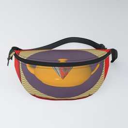 Teapot Theme Homestyle Fanny Pack
