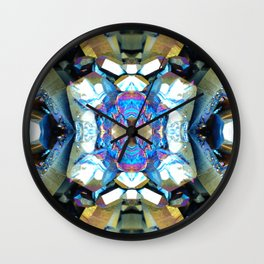 Mineral Composition 8 Wall Clock