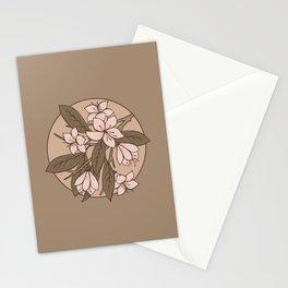 Sakura Branch - Pale Dogwood + Hazelnut Stationery Cards