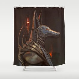 Anubis Protector of the Underworld Shower Curtain
