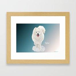 Tybor in Snow Framed Art Print