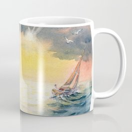Sailing Yacht Club Coffee Mug
