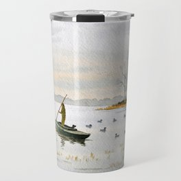 Duck Hunting - The Island Duck Blind Travel Mug