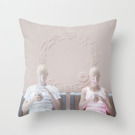 """""""Connection"""" Throw Pillow"""