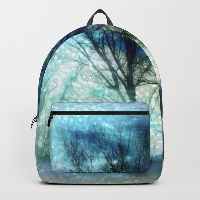 winter. Backpack