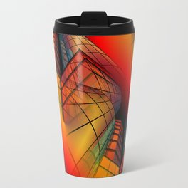 3D - abstraction -63- Travel Mug