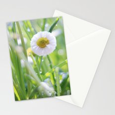 sunny summer meadow Stationery Cards