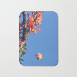 Rainbow Hot Air Balloon Bath Mat