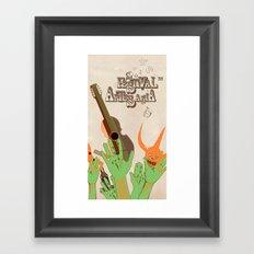 Festival Framed Art Print