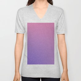 TAINTED CANDY - Minimal Plain Soft Mood Color Blend Prints Unisex V-Neck
