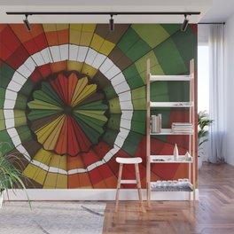 hot air balloon color Wall Mural