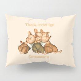 The 3 Little Pigs Dreamers Pillow Sham