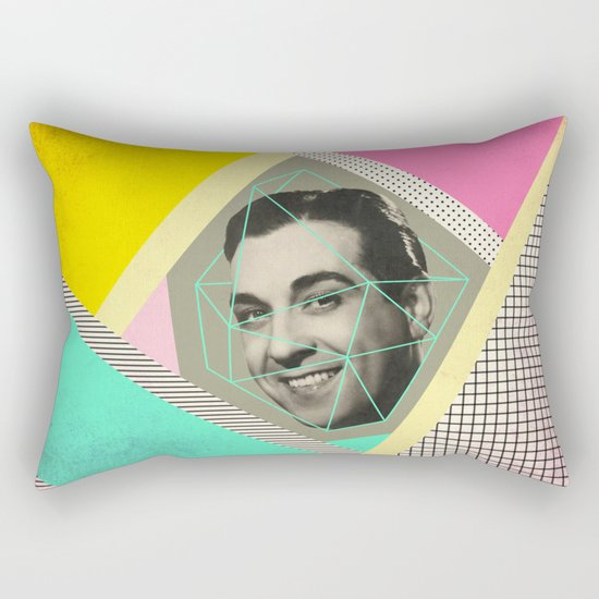 caged man, mariano Rectangular Pillow