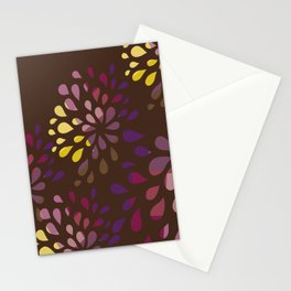 Dark drops Stationery Cards
