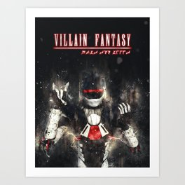Villain Fantasy_FURY Art Print
