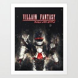 Villain Fantasy_FURY Art Print
