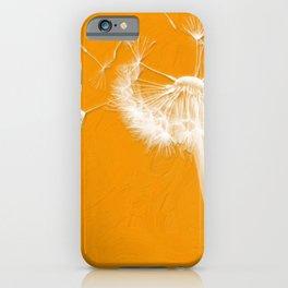Breezy Dandelion iPhone Case
