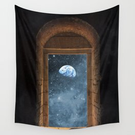 DOOR TO THE UNIVERSE Wall Tapestry