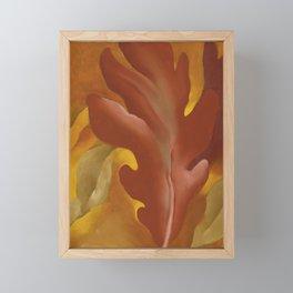 Oak Leaves by Georgia O'Keeffe Framed Mini Art Print