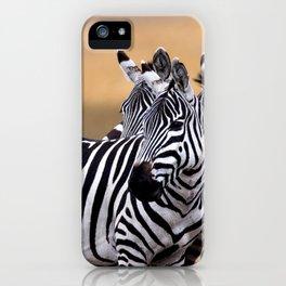 Sunset Strip & Stripes iPhone Case