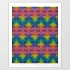 Triangular Entropy Art Print