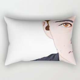 dylan o'brien Rectangular Pillow
