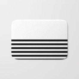 Half Stripes Bath Mat