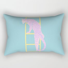 AMBITIOUS LEOPARD Rectangular Pillow