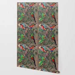 Birds of Paradise. Wallpaper