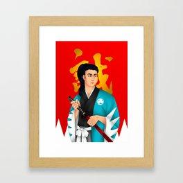 Shinsengumi-Hijikata Toshizo Framed Art Print