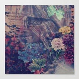 Skellie Girl Canvas Print