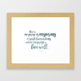 """""""Inspiring"""" Ornate Framed Art Print"""