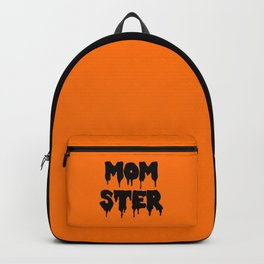 Momster Funny Quote Backpack
