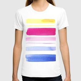Watercolour Stripes no 3 T-shirt