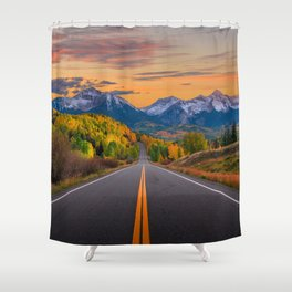 The Road To Telluride Shower Curtain