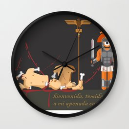 t.eye.tus andronicus Wall Clock