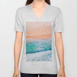 Waves 2 Unisex V-Neck