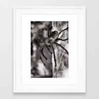 creepy Framed Art Prints featuring Creepy! by IowaShots