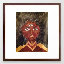Awakened Ego Framed Art Print